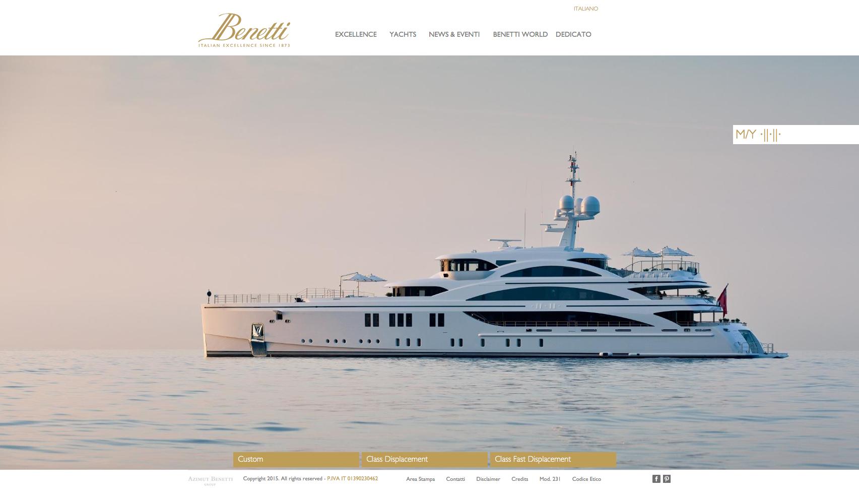 BmTec Benetti Yachts